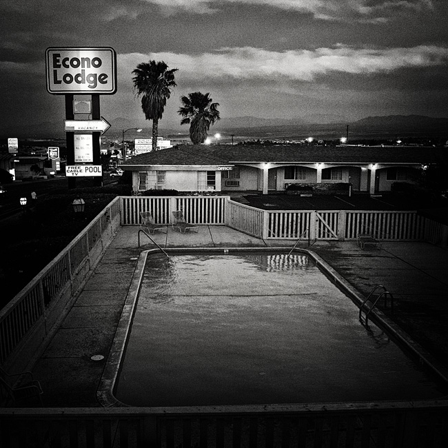 Hotel Pool / Barstow